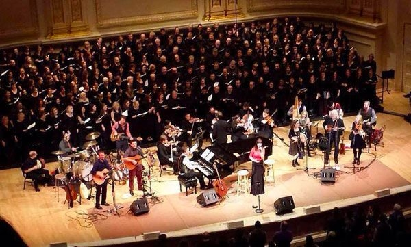 Performing with The Getty's & Ricky Skaggs at Carnegie Hall, NY: 12-17-2014
