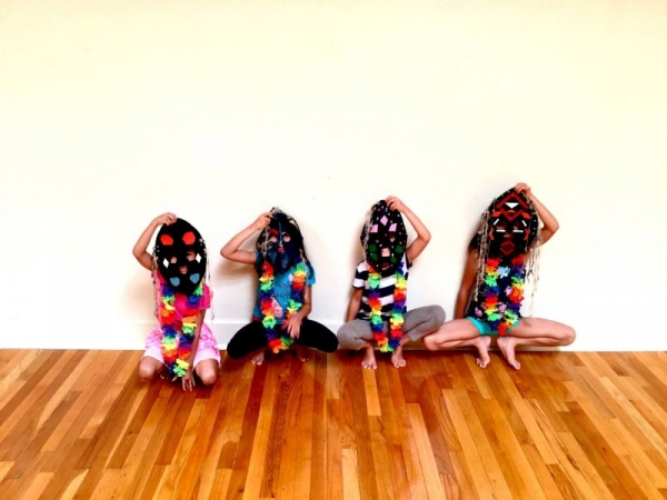 Kids Yoga and Art Workshop:  Journey to the Pacific Islands