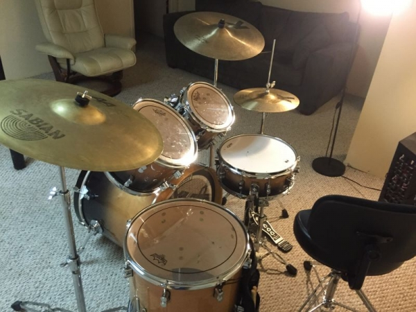 DW Pacific Drumset: For student use......