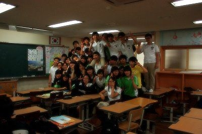 My high school students who I taught in Gwangju, South Korea!