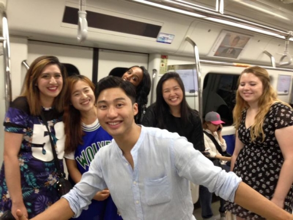 These crazy fun kPOP fans who I used to group-tutor, visited me in Seoul, South Korea!