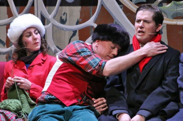 White Christmas musical production through GREAT theatre.