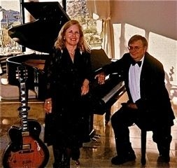 Charisma Jazz Duo, Dee Fleming, Vocals/Guitar; Geoff Andress, Vocals/Piano.