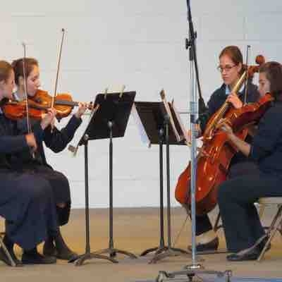 Blue Lake Staff Quartet performance