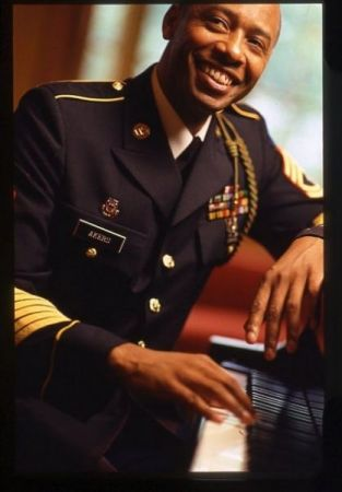 US Army Piano Player