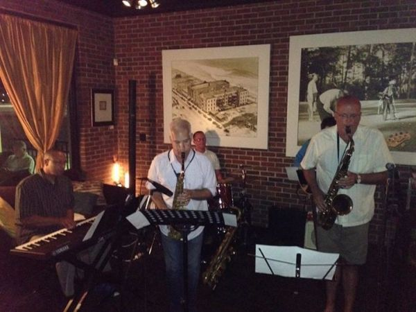 Performing at the Cobalt Restaurant with Joe Camarda & Friends in Va beach, VA 2014