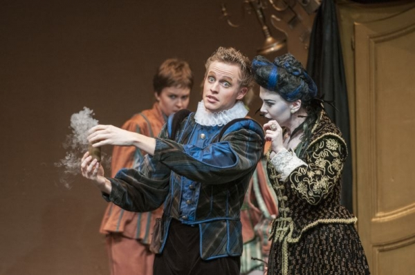 Volpone, Rice University 2012. Photo by Ted Washington.