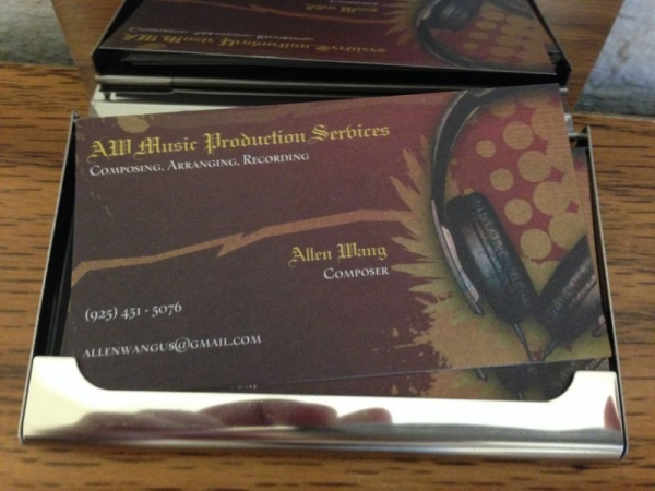 AW Music Production Services - Composing, Arranging, Recording