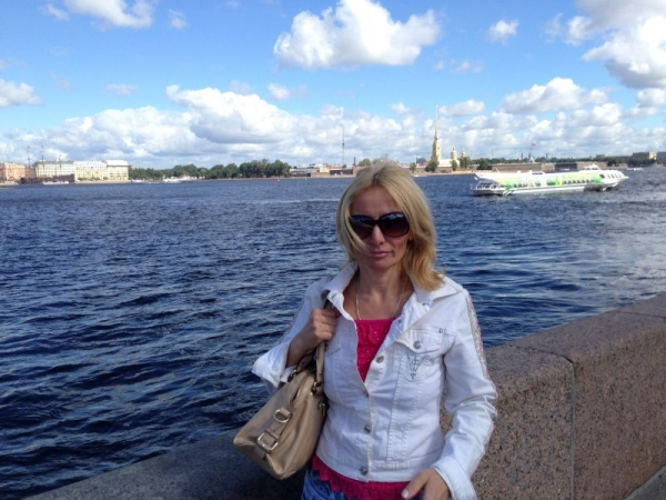 At the river Neva,