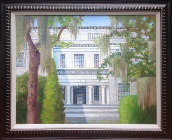 Acrylic Painting - Armstrong House
