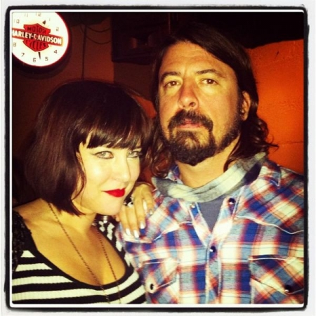 With Dave Grohl of Nirvana/Foo Fighters at Sundance Film Festival