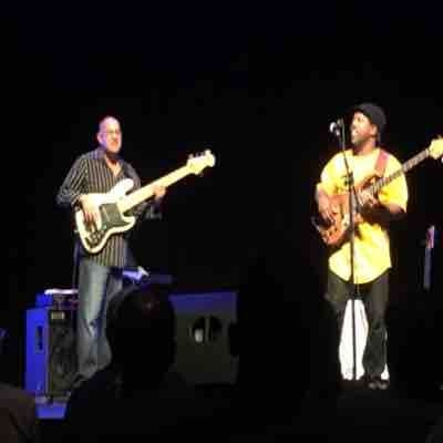 Performing at the Largo Cultural Center with Victor Wooten