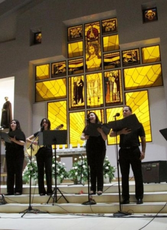 Tedeum Choir - Saint Francis of Assisi Concert October 2015. Director Alvaro Larios.