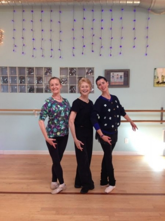 Roni Mahler and Myself during a beautiful Weekend of Ballet Master Classes.  :)