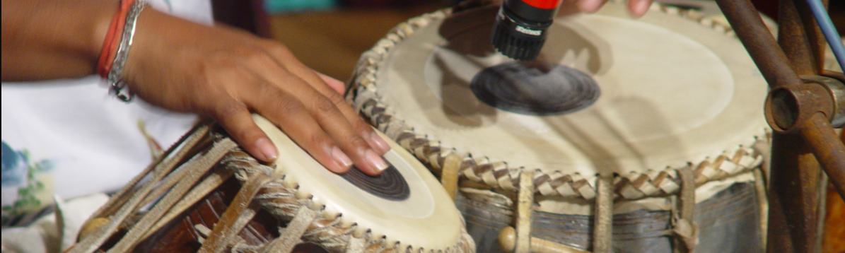 Picture of tabla lessons in Aptos, CA