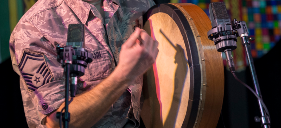 Picture of bodhran lessons in Tenafly, NJ