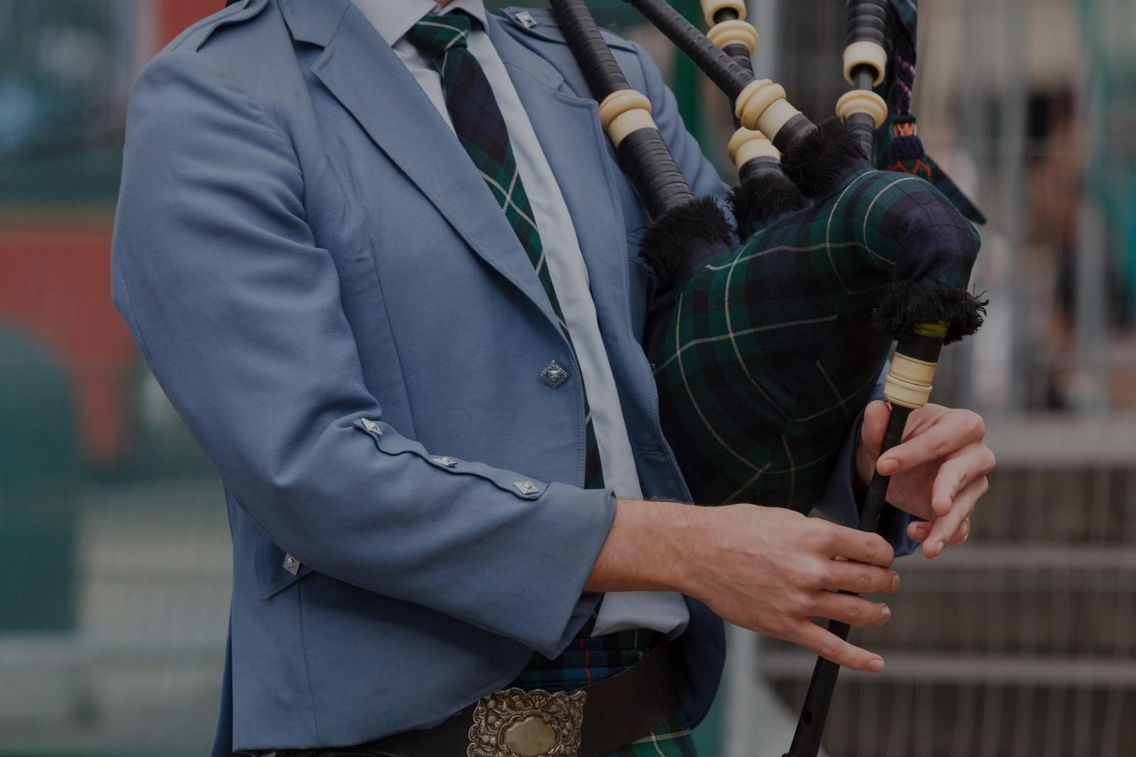 Picture of bagpipes lessons in Burlington, MA