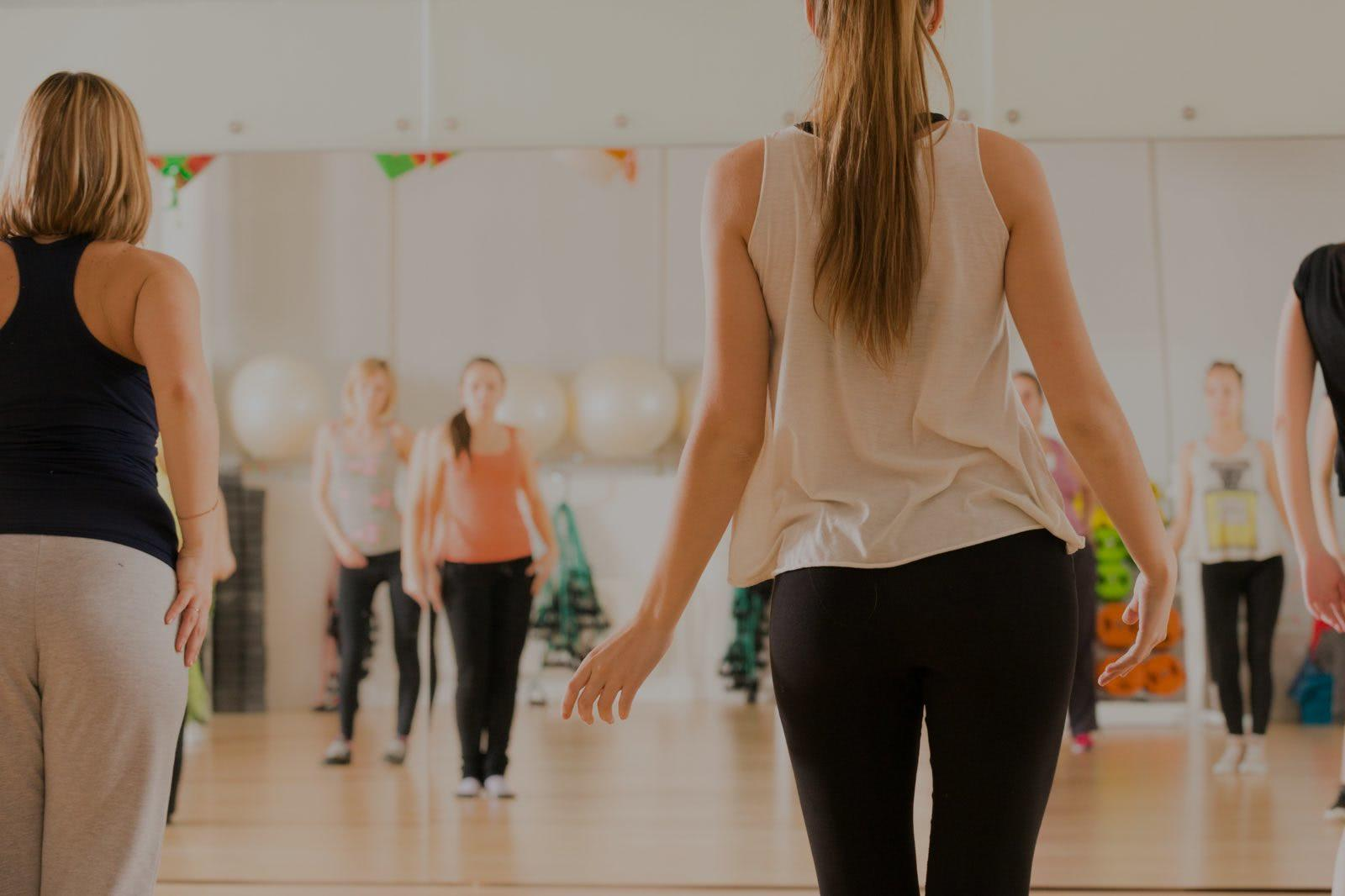 Picture of dance fitness lessons in Atlanta, GA