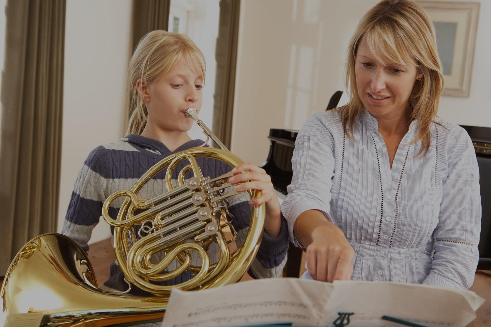 Picture of french horn lessons in Arlington, MA