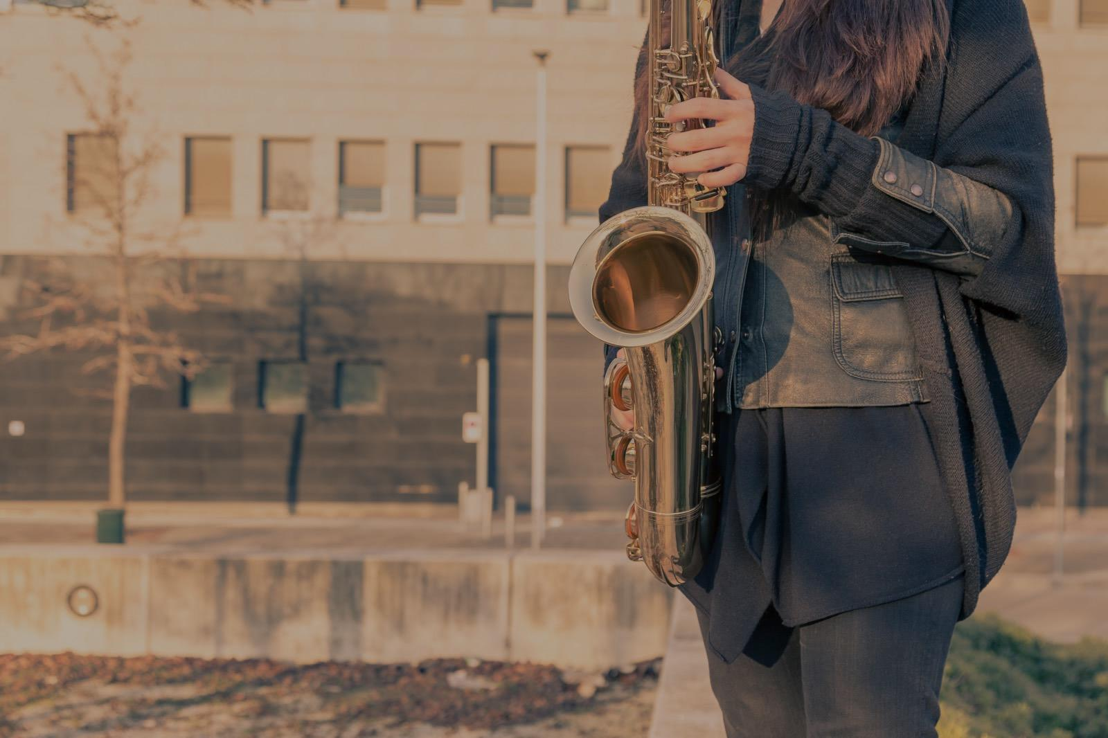 Picture of saxophone lessons in Kent, PA