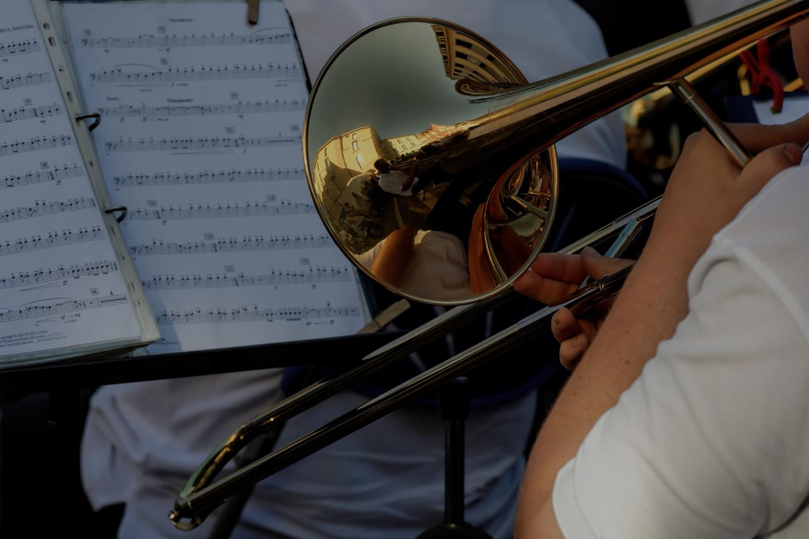 Picture of trombone lessons in Sausalito, CA