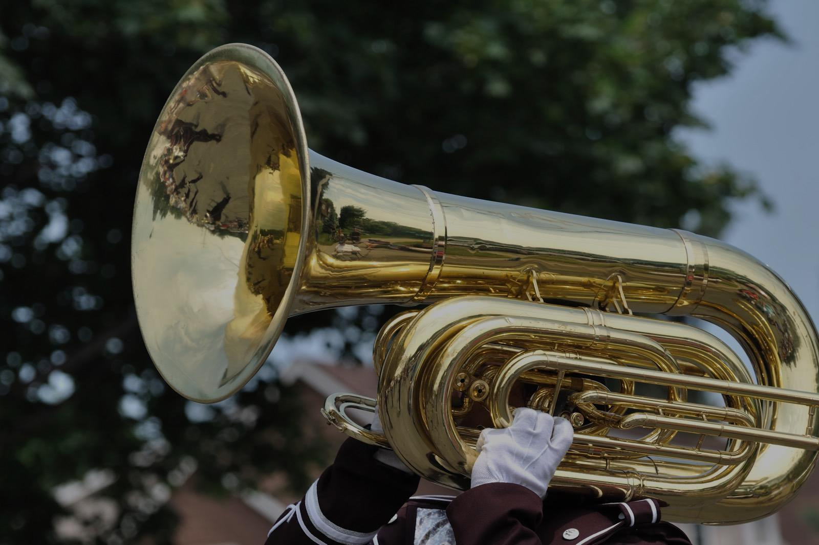 Picture of tuba lessons in Denton, TX