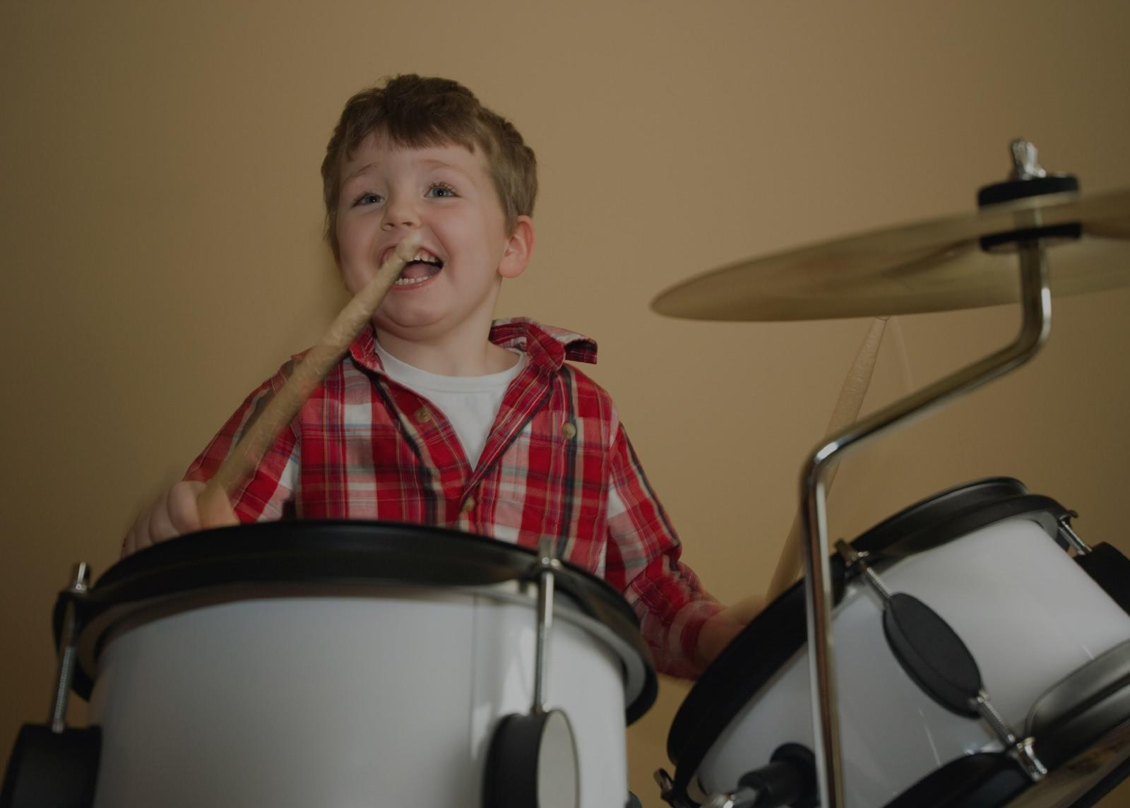 Picture of drum lessons in Denver, NY
